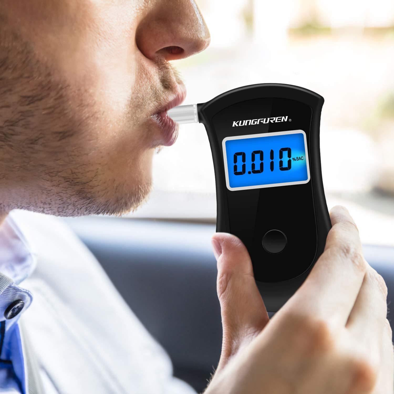 kungfuren Breathalysers Professional Alcohol Breathalyzer Tester Portable Tester
