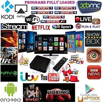 [Sintron] Ultimate MXQ Android 4.4 Quad Core Smart TV Box with Latest KODI (XBMC) Fully Loaded Jailbreak Mini PC replace Apple TV, XBMC Media Player Network Streamer, Sky Sports Films Movies Cartoons XXX