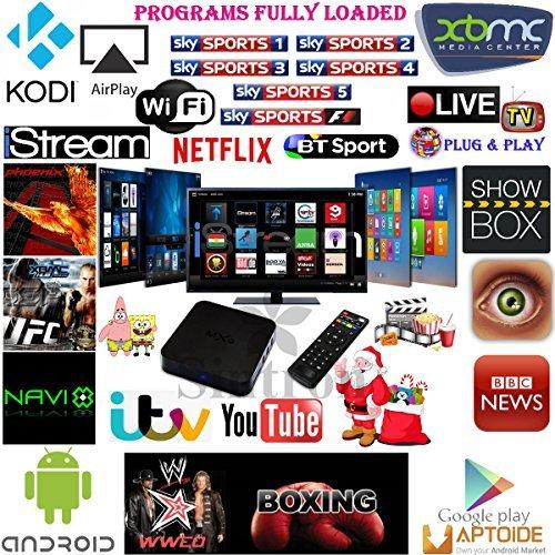 Sintron] Ultimate MXQ Android 4 4 Quad Core Smart TV Box