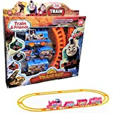 Thomas Electric Train Railway - Action Figure Cute Cartoon - Track Toy For Kid's