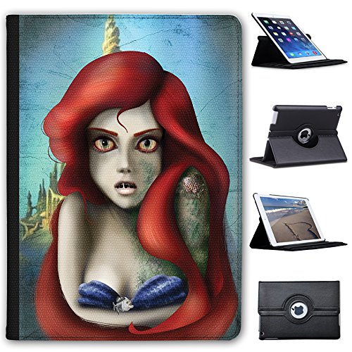 Fancy A Snuggle Meer Meerjungfrau Zombie Prinzessin Case Cover/Folio aus Kunstleder für Das Apple iPad Pro 9.7