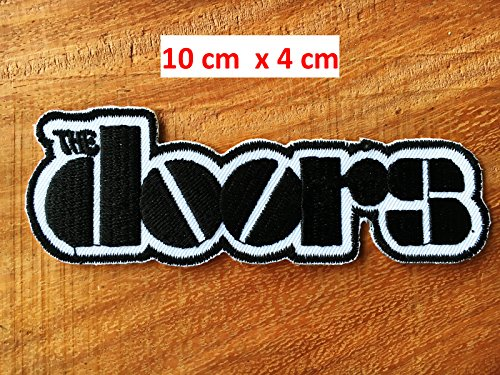 Le porte di The Doors Jim Morrison Punk Rock Heavy Metal Embroidered Iron on/Sew On Patch