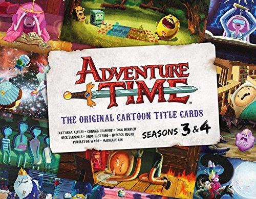 ADVENTURE TIME ORIGINAL CARTOON TITLE CARDS HC 02