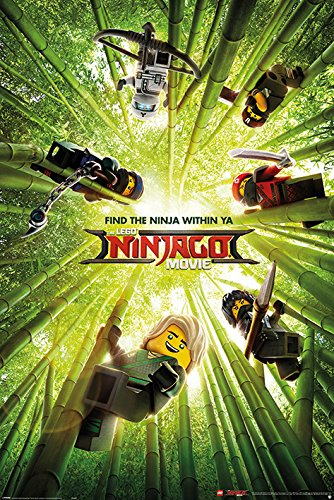 LEGO® Ninjago Film \'Bambus\' Maxi Poster,61 x 91.5 cm