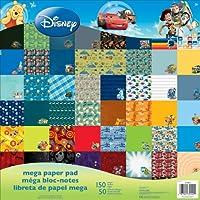 "Sandylion Disney Boy 12""x12"" Mega Paper Pad 150 sheets"
