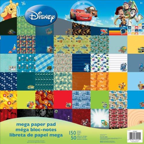 disney-single-sided-mega-paper-pad-12x12-150-pkg-boy-50-designs-3-each