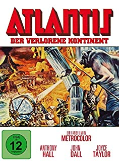 Atlantis - Der verlorene Kontinent (Limited Mediabook Edition) [Blu-ray] [Limited Edition]