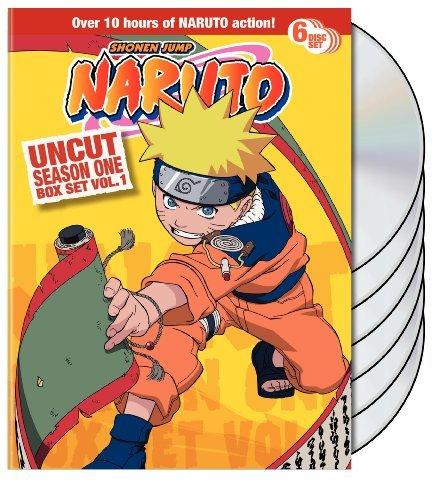 Naruto Uncut Box Set: Season 1, Vol. 1 by Various
