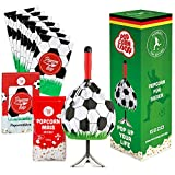 Popcornloop Fussball Set Fan Edition - Popcorntüten Butterfly Mais Popcornmais Popcorntüten Popcornmaschine