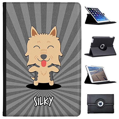 Fancy A Snuggle Silky, Australian Silky Terrier Case Cover/Folio aus Kunstleder für Das Apple iPad Pro 10.5