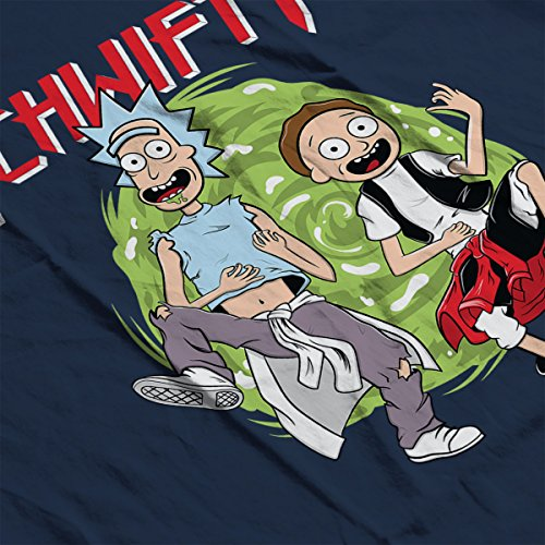 The Schwifty Adventure Rick And Morty Men's Vest Navy Blue