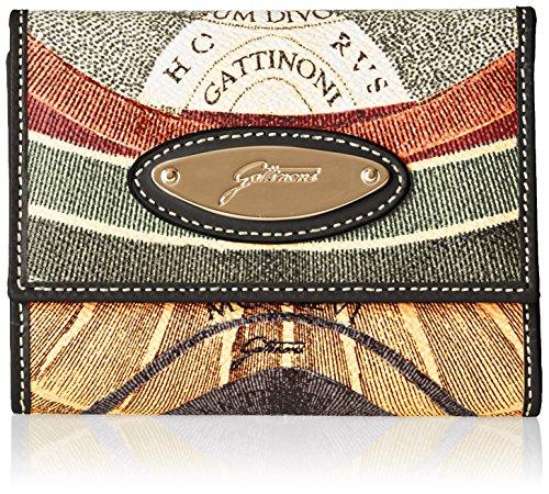 Gattinoni Gacpu0000135, Portafoglio Donna, Multicolore (Classico), 2x10.5x13 cm (W x H x L)