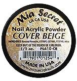 Mia Secret - Smalto in polvere acrilica per unghie, 15ml, colore: beige