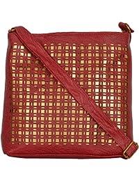 MD Enterprises Women's Sling Bag (Peach)|Printed Handbags For Women's |Designer Girls Bag