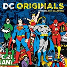 DC Comics Official 2018 Calendar - Square Wall Format (Calendar 2018)