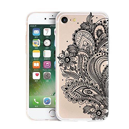 Ouneed® Für iPhone 7 Plus /5.5 Zoll Hülle, Pattern matt Hard Case Hülle für iPhone 7 Plus 5,5 Zoll (5.5 Zoll, F) L