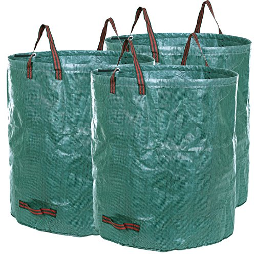 Songmics 3 x sac à déchets de jardin 272L GTS272L