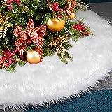 AMAUK Excepcional y lujosa falda de árbol de Navidad como decoración de Navidad esencial, principalmente para colocar en el hogar, mostradores, tiendas, hoteles y otros lugares. Puedes poner los regalos o la decoración navideña que te gustan...
