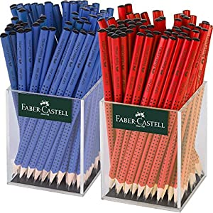 Grip 2001 Graphite Pencils RED/Blue Display of 144