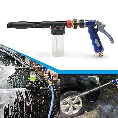 Rayinblue High Quality Car Wash Washing Spray Snow Foam Water Gun Lance Uses Hose Pipe UK from Rayinblue
