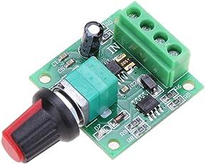 BESTVECH DC Motor PWM Speed Regulator 1.8V 3V 5V 6V 12V 2A Low Voltage Motor Speed Controller