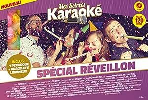 Coffret karaoké 10DVD : Spécial Réveillon (inclus des Goodies)