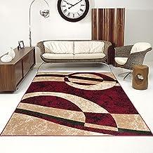 alfombra para saln precio bajo cheap circulos rojo diferentes dimensiones sxxl x