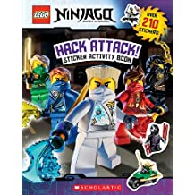 Lego Ninjago: Hack Attack! Sticker Activity Book (Lego Ninjago: Masters of Spinjitzu)