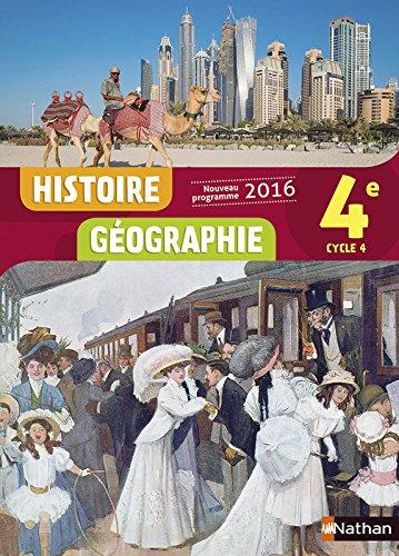 Histoire-Géographie 4e - Nouveau programme 2016