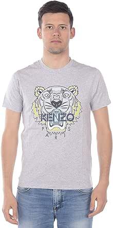 Kenzo Tiger T-Shirt Grey & Blue