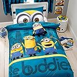Kinder Bettwäsche Set Die MINIONS Le Buddies Hochwertiger Baumwolle Mix Bettset