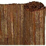 Primrose 4m X 2m Bark Fencing Screening Amazon Co Uk