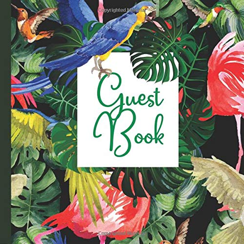 Guest Book: Hawaii Party Guest Book Includes Gift Tracker and Picture Memory Section to Create a Lasting Keepsake to Treasure Forever (Hawaii Party ... Invitations,Hawaii Party Supplies, Band 7)