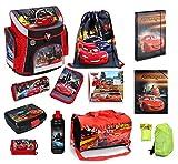 Schulranzenset Disney Cars 19-tlg. Sporttasche