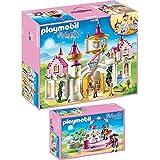 PLAYMOBIL® Princess 2er Set 6848 6853 Prinzessinnenschloss + Prunkvoller Maskenball