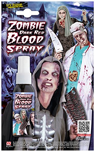 �Spray Blut Zombie, dunkelrot, 48ml ()