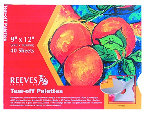 reeves-9x12-tear-off-palette-paper-pad-pack-of-40