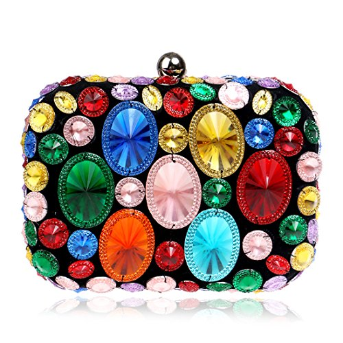 SSMKHandbag - Boesa da sera Donna Multi-Colored