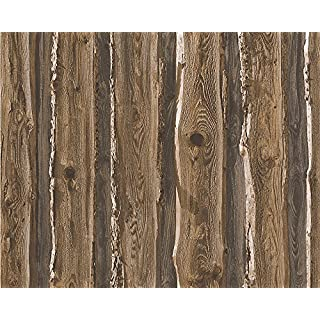 A.S. Creation 95837-1 Wood Effect Wallpaper, Roll Size: 10.05m x 0.53m