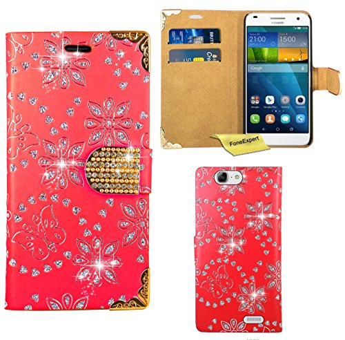 huawei-ascend-g7-case-foneexpertr-bling-luxury-diamond-leather-wallet-book-kickstand-bag-case-cover-