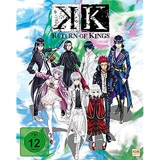 K - Return of Kings - Staffel 2.1: Episode 01-05 im Sammelschuber [Blu-ray]