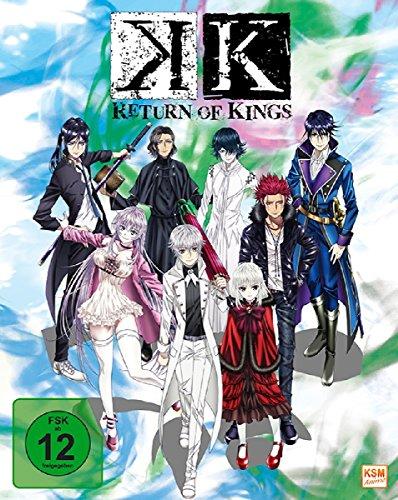 Produktbild K - Return of Kings - Staffel 2.1: Episode 01-05 im Sammelschuber [Blu-ray]
