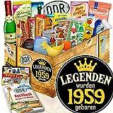 Legenden 1959 ++ beste Freundin Geburtstag ++ Ostpaket Geschenkset