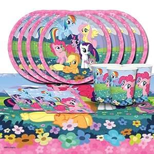 Kit d'anniversaire Mon petit poney pour 16 personnes