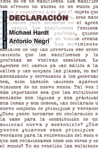 Descargando audiolibros gratis para encender Declaración (Pensamiento crítico) B00AC41NJQ in Spanish RTF