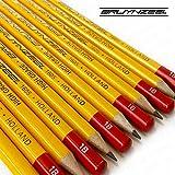 Bruynzeel–de haute qualité à tête hexagonale Burotek Crayons–1605–Boîte de 12–1B