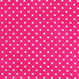 Fabulous Fabrics Cord Pünktchen hot pink — Meterware ab