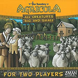 Agricola All Creatures Big and Small Board Game