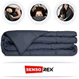 Senso-Rex. Premium Weighted Blanket for Adults, Gravity Blanket, Reduce Anxiety, Support for Sensory Processing Therapy, Size 150x200 cm, Weight 10kg