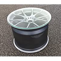 Aston Martin Le-mans GTE racecar wheel rim coffee side table - Ultimate man cave den guys office accessory driving motorsport car part gift